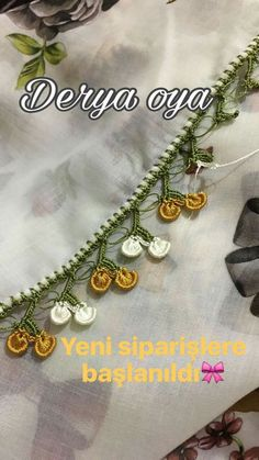 This Pin was discovered by Ner Bead Crochet, Crochet Necklace, Baby Knitting Patterns, Saree Tassels, Crochet Borders, Needle Lace, Cheese Cloth, Tatting, Crochet Scarfs