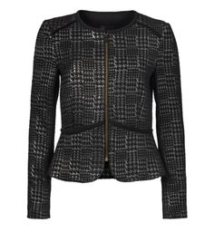Milliea Metallic Dogtooth Jacket