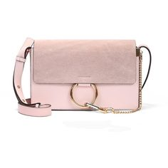 Women's Genuine Leather Chain Nubuck Flap Shoulder Bag Handbag (235 ILS) ❤ liked on Polyvore featuring bags, handbags, shoulder bags, handbags shoulder bags, pink shoulder handbags, chain shoulder bag, leather man bag and shoulder handbags