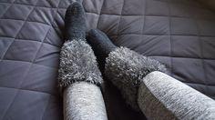 Something Soft: Pörröiset villasukat