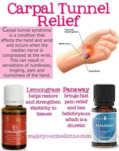 Living Essential Oils: Carpal Tunnel For more oily information senti. - Essential Oils and Herbs -Young Living Essential Oils: Carpal Tunnel For more oily information senti. - Essential Oils and Herbs - Essential Oils For Pain, Essential Oil Uses, Natural Essential Oils, Young Living Essential Oils, Pure Essential, Carpal Tunnel Relief, Pain Relief, Stress Relief, Healing Oils