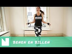 Work-out met Foodie-ness: de beste oefeningen voor strakke benen en billen - YouTube