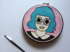 I Got My Eyes On You // Retro Pop Art Print // 6 by threadhoney