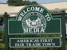 Media, PA. The first #FairTrade Town in America.
