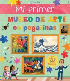 """""""Mi primer museo de arte en pegatinas"""" at Ediciones Usborne"""