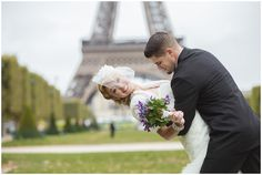 """Heiraten in Paris - davon träumen viele Paare auf der ganzen Welt. Dieser Hochzeitsblog hat sich auf Hochzeiten in Frankreich und mit dem Thema """"Frankreich"""" spezialisiert: http://www.frenchweddingstyle.com/eiffel-tower-elopement/  Photography : Gabi Alves Photography"""