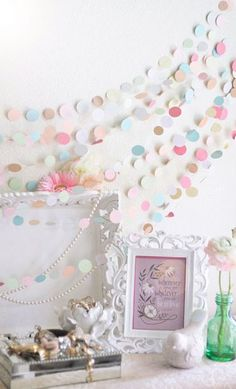 Pastel Colored Garland! Maybe for nursery?