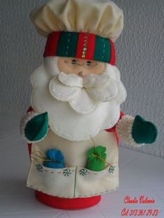 I just wanted this for the hat. Christmas Favors, Felt Christmas, All Things Christmas, Christmas Time, Christmas Crafts, Christmas Ornaments, Felted Wool Crafts, Felt Crafts, Felt Decorations