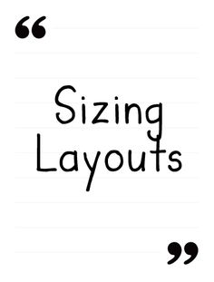 Sizing Digital Layouts Tutorial from the Daily Digi.