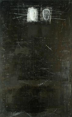 'Mythe' by Dutch artist Didi van der Velde via just another masterpiece Old Photo Texture, Art Texture, Abstract Expressionism, Abstract Art, My Art Studio, Black And White Painting, Encaustic Art, Art Abstrait, Artist Art