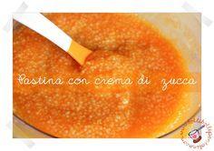 Bolli bolli pentolino: Pastina con crema di zucca per lo svezzamento dei ...