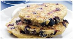 Dietary pancakes and blueberries oatmeal | I am a cook