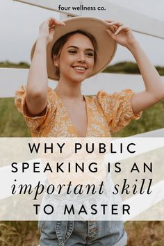 Why Public Speaking Is An Important Skill To Master | Public Speaking Tips - Is your fear of public speaking holding you back from reaching your full potential? Click to learn our top strategy for overcoming your fear of public speaking and improving your communication skills for greater confidence in your career and personal life. | Improve Public Speaking Skills | Leadership Development | Self Confidence Building | Four Wellness Co. #publicspeaking #communication #selfconfidence… Leadership Skill, Leadership Development, Communication Skills, Workplace Wellness, Personal And Professional Development, Experiential Learning, Overcoming Anxiety, Dream Career, Healthy Lifestyle Tips