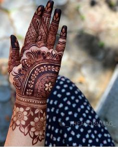 Rajasthani Mehndi Designs, Indian Henna Designs, Rose Mehndi Designs, Stylish Mehndi Designs, Back Hand Mehndi Designs, Latest Bridal Mehndi Designs, Mehndi Designs For Girls, Mehndi Design Photos, Dulhan Mehndi Designs