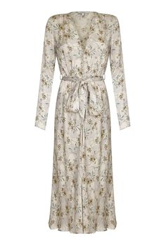 SHOP: I'm a little bit in love with everything Ghost at the moment (what an amazing comeback they're having!) and this vintage floral print satin dress is making me weak at the knees – wear with tan knee length boots and something big and faux in black.