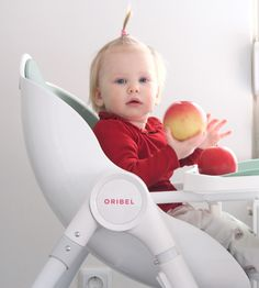 Meal times and Snack times on Oribel Cocoon high chair