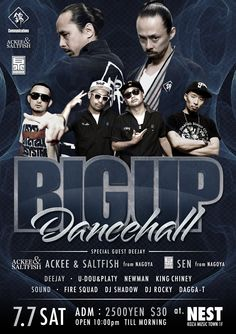 BIGUP DANCEHALL SPECIAL 2012.7/7 SAT