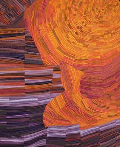 Antelope Canyon quilt by Kimberly Lacy