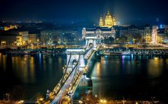 Chain Bridge In Bidapest - Google Search