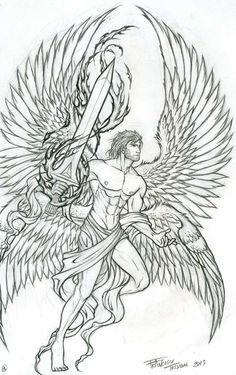 archangel tattoo - Google Search