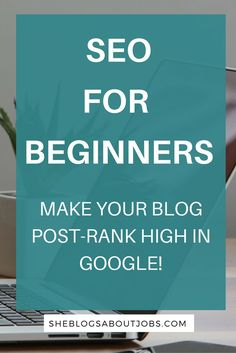 This post explains the basics of SEO for beginners. If you've been afraid to experiment with SEO becuas it seems like such a daunting task, then this SEO for beginners guide is all you need. Have a look at my easy SEO tips to help rank your blog high in search engines and drive some great search engine traffic to your blog or website!