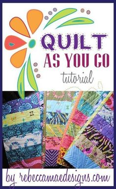 crafts diy How to join quilt blocks using the quilt as you go method. PAK The post How to join quilt blocks using the quilt as you go method. appeared first on Diy and crafts. Quilting For Beginners, Quilting Tutorials, Quilting Projects, Quilting Designs, Sewing Projects, Quilting Ideas, Sewing Tips, Sewing Tutorials, Crazy Quilt Tutorials