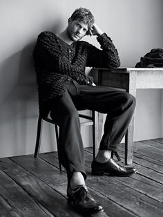 jamie dornan 0005 Karim Sadli Shoots Jamie Dornan for T Magazine