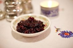 Cranberry bourbon sauce...better late than never. Maybe for Christmas?