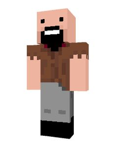 "This is an image of the officially in-game Minecraft skin for Markus ""Notch"" Persson, I chose this image because this is what the internet and the whole of the Minecraft community perceive what Notch looks like and it what Notch would use is he was playing his own game."