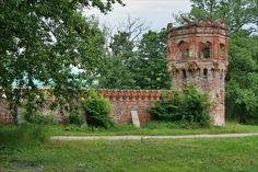 Le Mur d'enceinte et les portes du Monastère Fiodorovsky - Pouchkine - Construit de 1913 à 1918 par l'architecte Stepan Krichinsky.