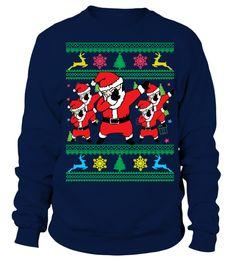 97a57f6181b20 Dabbing Santa Ugly Christmas Sweater . 100% Printed In The USA - Ship  Worldwide