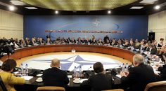 NATO Ministers of Defense and Ministers of Foreign Affairs meet at NATO headquarters in Brussels (Wikimedia Commons)