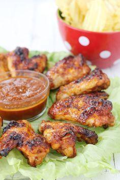Receta de Alitas de pollo con salsa barbacoa