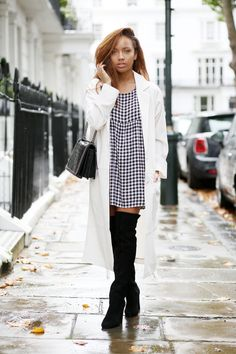 really like the dress and those boots! Beautycrush - A Style Diary by Samantha Maria : SKY HIGH Samantha Maria, Sammi Maria, Beauty Crush, Casual Outfits, Fashion Outfits, Love Her Style, Fashion Books, Minimal Fashion, Pretty Outfits