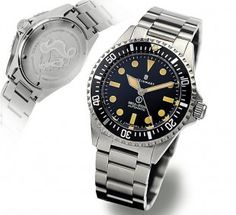 Steinhart OCEAN vintage Military  Diver Watch42mm, saph, ETA 2824-2, 300m, solid back. $425 used is a good deal.