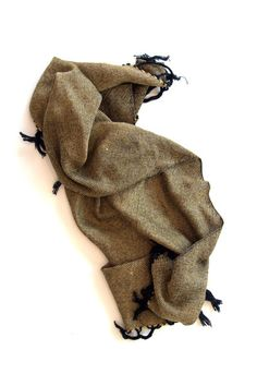 Canzone: handwoven cotton scarf – Amber Kane