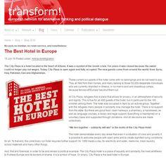 Γερμανική ΜΚΟ πίσω απο την κατάληψη του CITY PLAZA HOTEL Plaza Hotel, Best Hotels, Athens, Public, Politics, Good Things, City, Blog, City Drawing