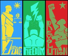 #Ethemİcin7NisandaAnkaraya #EthemSarisuluk via @ariSEMUT #RevolutionaryPosters Justice, Freedom, Revolution.
