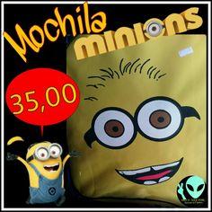 Veja nosso novo produto Mochila Minions! Se gostar, pode nos ajudar pinando-o em algum de seus painéis :)
