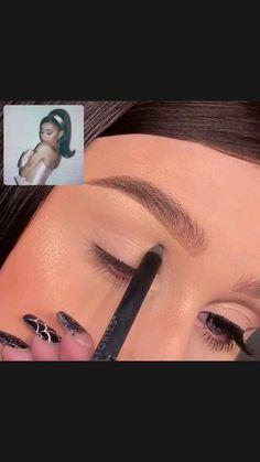 Glam Makeup, Girls Makeup, Diy Makeup, Makeup Inspo, Makeup Inspiration, Makeup Tips, Beauty Makeup, Makeup Tutorials, Bridal Makeup