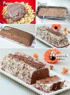 The Easiest Cake Recipe, How To - Feminine Recipes - Delicious, Practical and Most Exquisite Recipes Site - Dessert Bread Recipes Banana Dessert Recipes, Banana Bread Recipes, Easy Cake Recipes, Unique Recipes, Chocolate Banana Bread, Dessert Bread, Turkish Recipes, Food Porn, Seafood Dishes