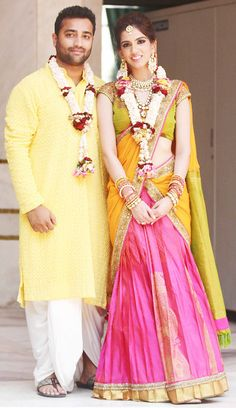 @nisshk ties the knot with Dhruv Mehra. #Fashion #Style #Beauty #Wedding #India