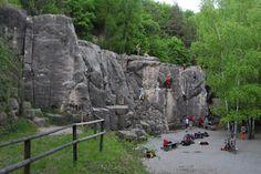 Der Klettergarten Stetten, © Archiv Münchberg