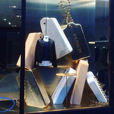 "COACH, Regent Street, London, UK, ""Lost & Found"", creative by Elemental Design, pinned by Ton van der Veer"