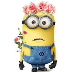 Flowers?   Fan art   Valentine's Day   Minions Movie   In Theaters July 10th