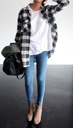 Bags - style steal grunge jeans streetstyle - Outfits Hunter