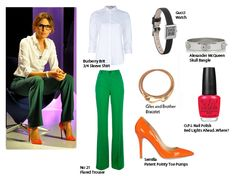 Strictly Speaking Gucci Watch, 3 4 Sleeve Shirt, Burberry Brit, Look Chic, Green And Orange, Classic Looks, Loft, Classy, Formal