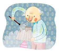 """Lolo likes everything clean.""  Natasha Rosenberg, illustrator  nataschasrosenberg.com"
