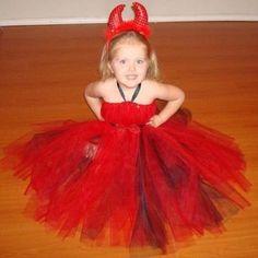Devil tutu costume