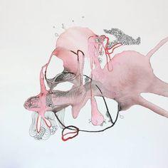 "Saatchi Art Artist Aga Koch; Drawing, ""From the Series Grow"" #art"